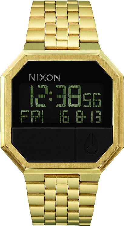 Nixon - Reloj Digital de Cuarzo Unisex con Correa de Acero Inoxidable
