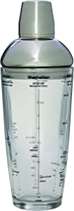 Tablecraft-Boston-Shaker,-Gray,-24-oz