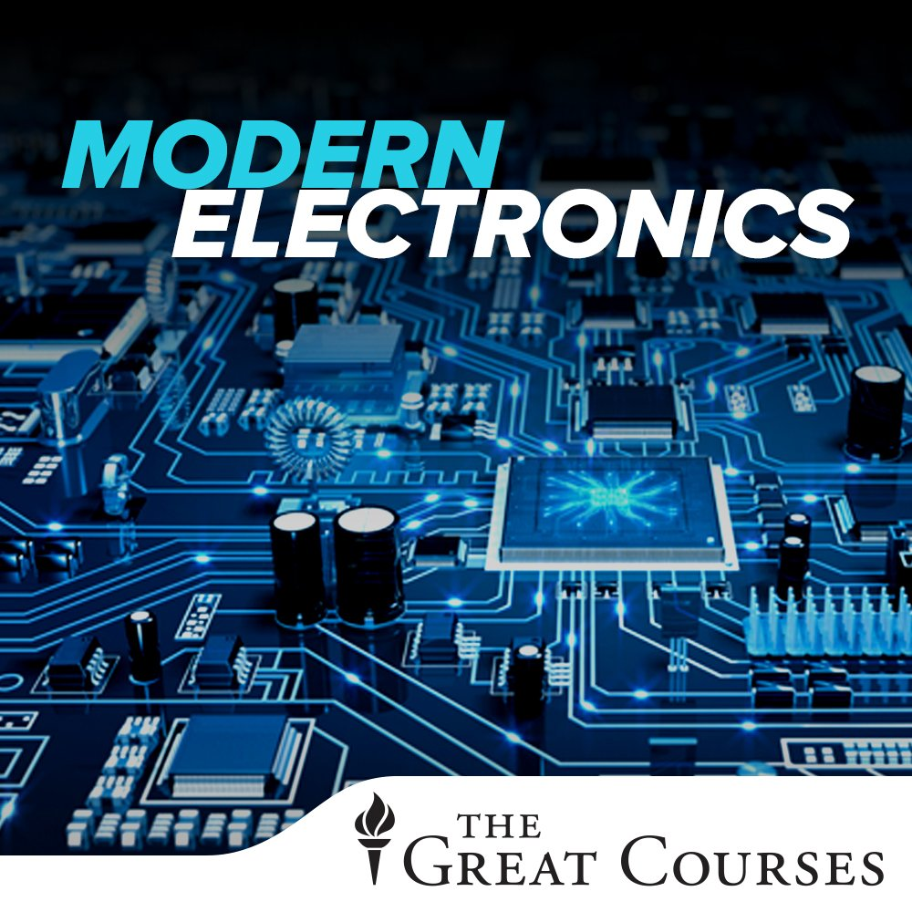 Understanding Modern Electronics Richard Wolfson Lesson Electronic Parts Components Pictures To Movies Tv