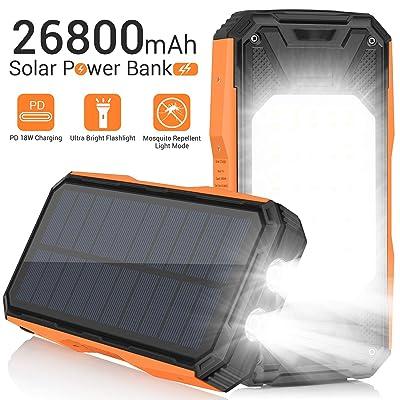 Solar Charger 26800mAh