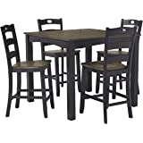 Signature Design by Ashley D338-223 Froshburg Counter Height Dining Room Table and Bar Stools