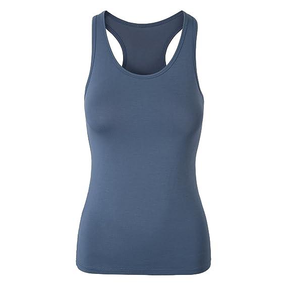 Mujer Camisetas de Tirantes Camisetas Básicas sin Mangas: Amazon.es: Ropa y accesorios
