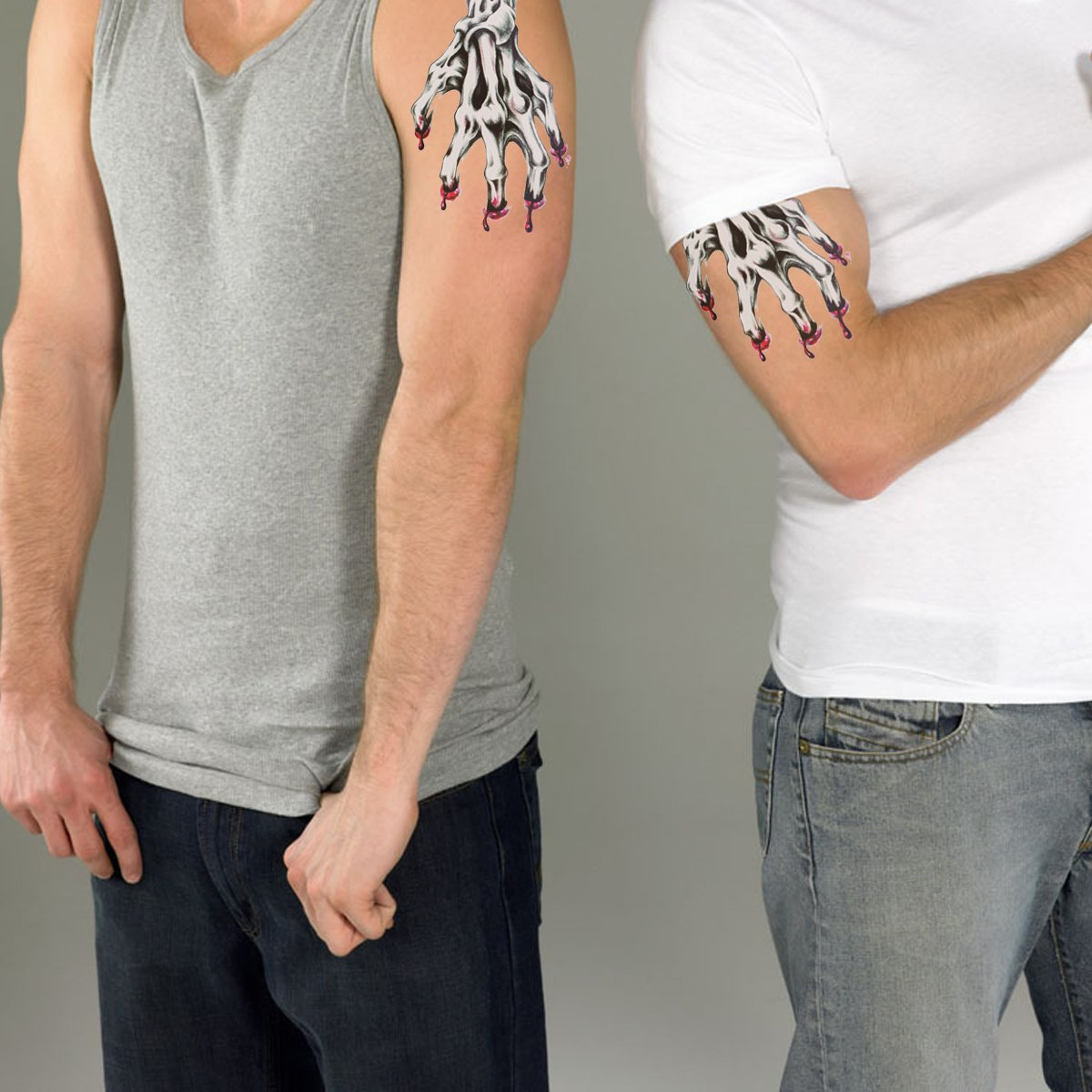 rosenice tatuaje Halloween tatuaje temporal tatuaje temporairement ...