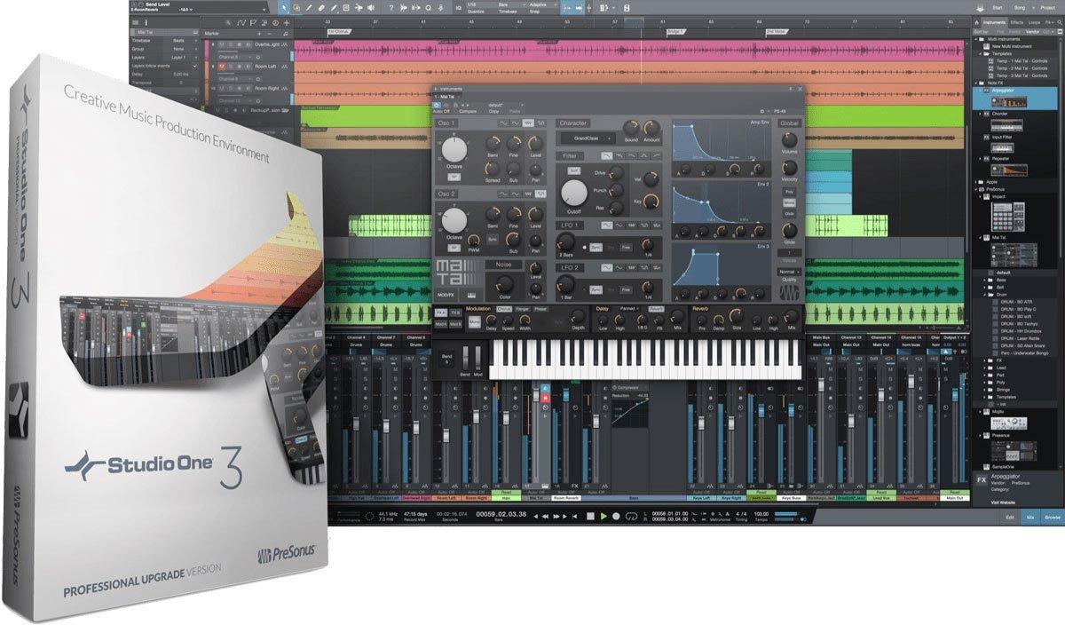 Presonus Studio One Upgrade Professional Version 1 & 2 TO Professional Version 3 by PreSonus