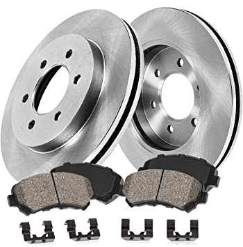 2002 2003 2004 GMC Envoy XL Disc Brake Rotors and Free Pads Rear