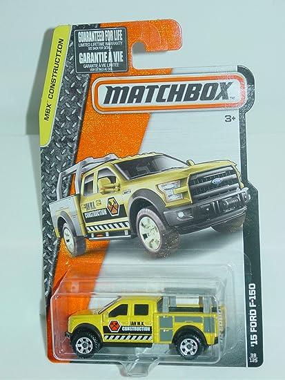 MATCHBOX 2016 MBX CONSTRUCTION /'15 FORD F-150  W+