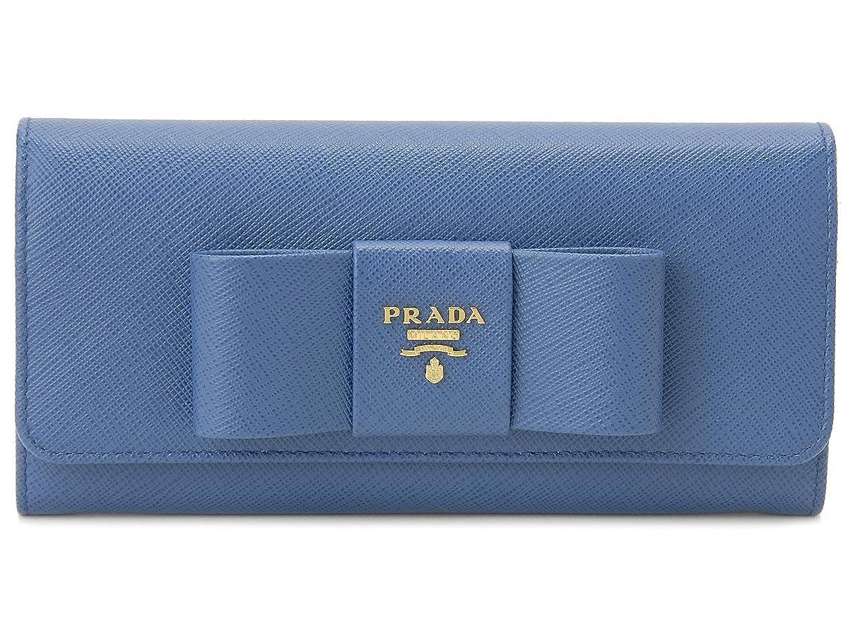[プラダ]PRADA 長財布 1MH132-ZTM-F0215 サフィアーノ フィオッコ コバルトブルー [並行輸入品] B01LN2BPBQ