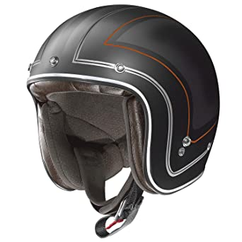 X-Lite X 201 caliente casco jet moto Composite Fibra N-Com, color
