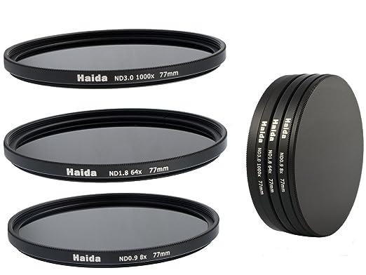 2 opinioni per Timetrends24/Haida- Set di filtri neutri grigi composto da ND8, ND64, ND1000 da