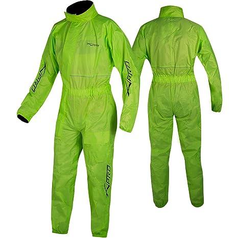 Abbigliamento da lavoro e divise Tuta Impermeabile Intera Anti Acqua Pioggia Alta Visibilità Riflettente A-PRO