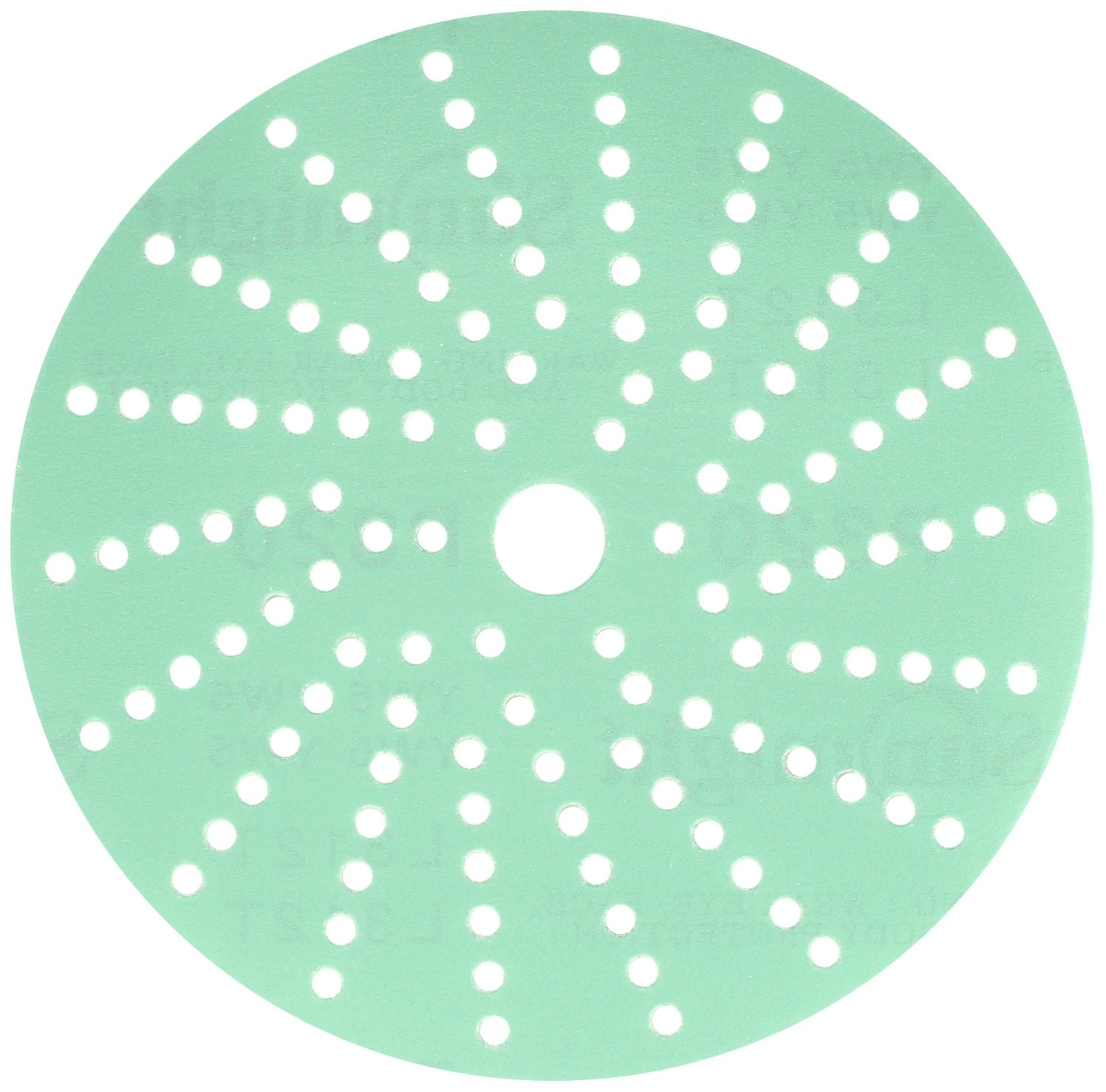 Sunmight 47414 1 Pack 6'' Multi Hole Velcro Disc (Film Grit 320)