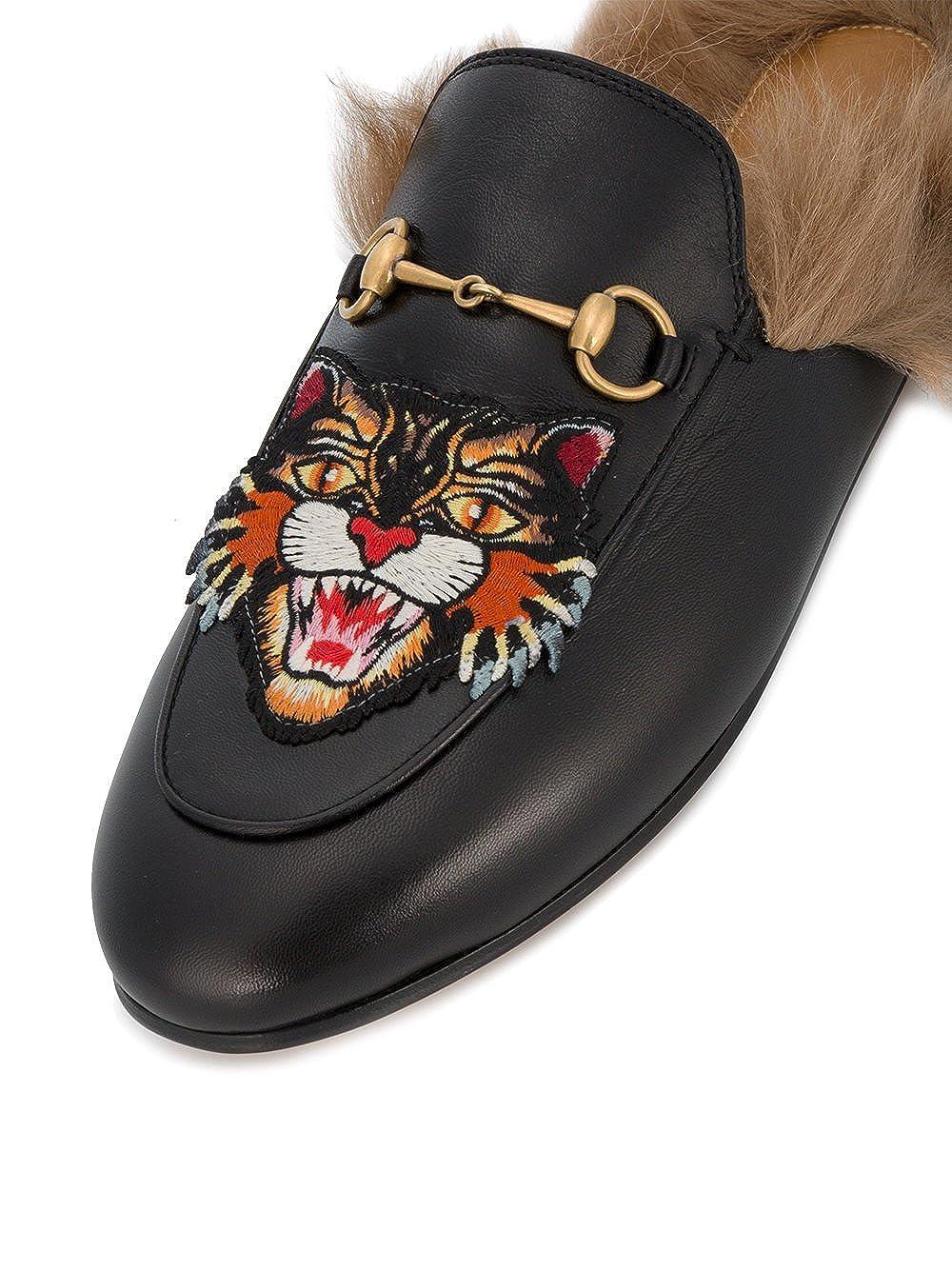 GUCCI - Mocasines Mujer, negro (negro), 36: Amazon.es: Zapatos y complementos