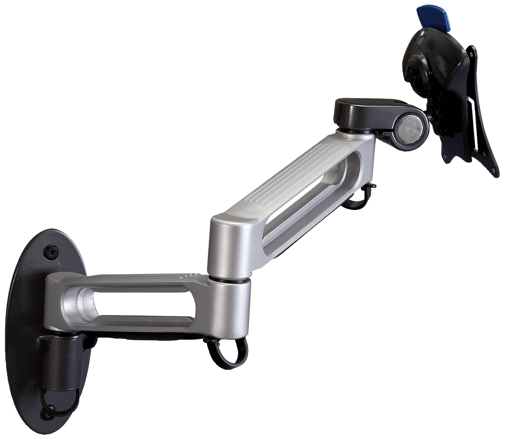 Balt Dual Arm Wall Mount for Flat Panel Monitors, Capacity up to 23'' and 30 lbs (66582)