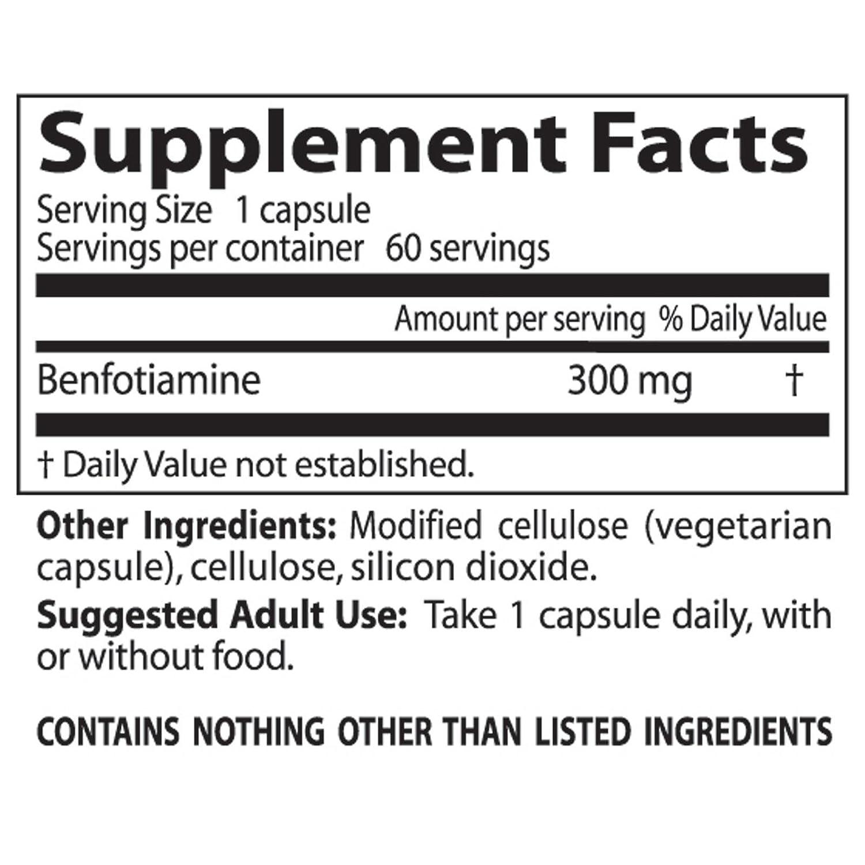 Doctors Best - El mejor magnesio 300 de Benfotiamine. - 60 cápsulas vegetarianas: Amazon.es: Salud y cuidado personal