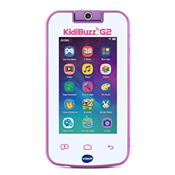 VTech KidiBuzz G2 Kids Electronics Smart Device with KidiConnect, Pink