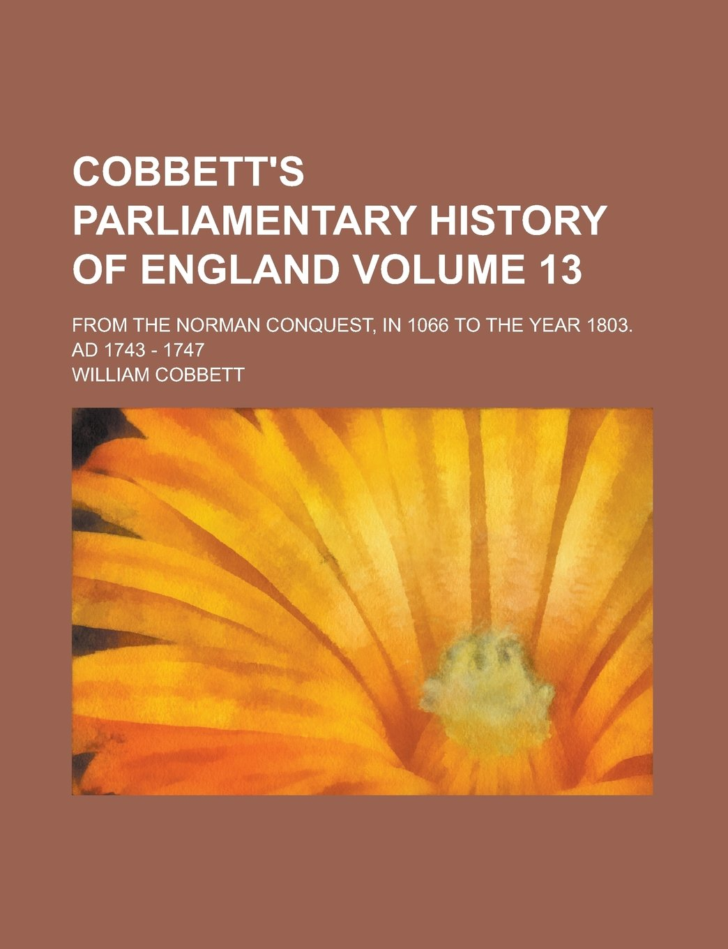 Cobbett's parliamentary history of England; from the Norman conquest, in 1066 to the year 1803. AD 1743 - 1747 Volume 13 PDF Text fb2 book