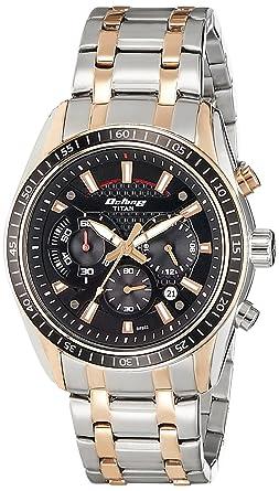 0ac50260c1 Buy Titan Octane Chronograph Black Dial Men's Watch -90077KM03 ...