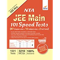 NTA JEE Main 101 Speed Tests (87 Chapter-wise + 12 Subject-wise + 2 Full)