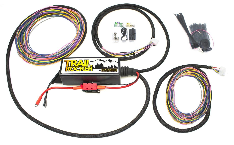 Fabulous Amazon Com Painless Wiring 57005 Trail Rocker Kit 07 15Wrangler Jk Wiring 101 Eattedownsetwise Assnl
