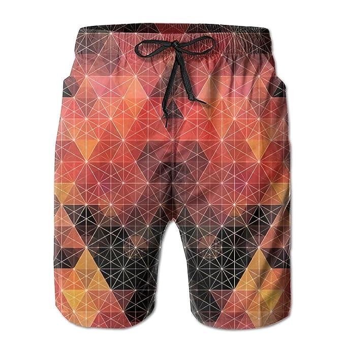 Amazon.com: Doppyee Geometric Patterns Printing Mens Yoga ...