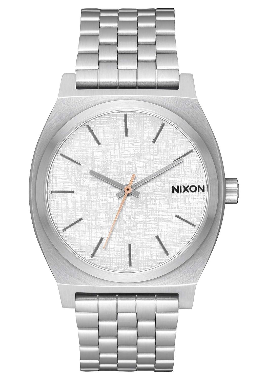 Nixon Reloj Analogico para Hombre de Cuarzo con Correa en Acero Inoxidable A045-2787-00
