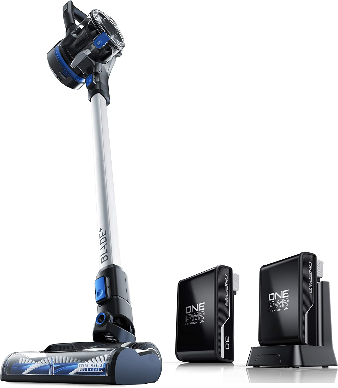 Hoover ONEPWR Blade+ Cordless Stick Vacuum Cleaner with Additional 3Ah Battery, BH53310, BH15030