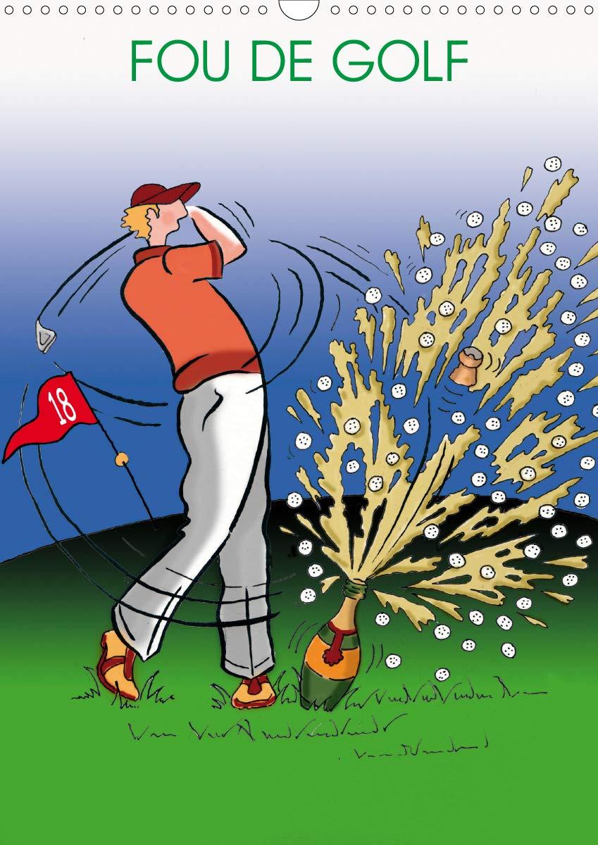 FOU DE GOLF 2020: Dessins humoristiques sur le golf