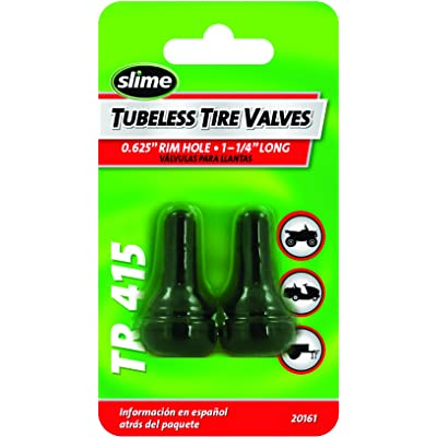 "Slime 20161 Tubeless Tire Valves 1-1/4"" (TR415): Automotive [5Bkhe1012457]"