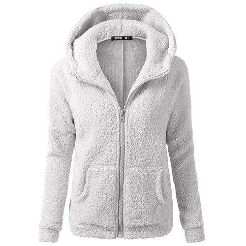 Escudo, abrigo,Internet Abrigo de invierno con capucha de las mujeres Abrigo de invierno con cremall...