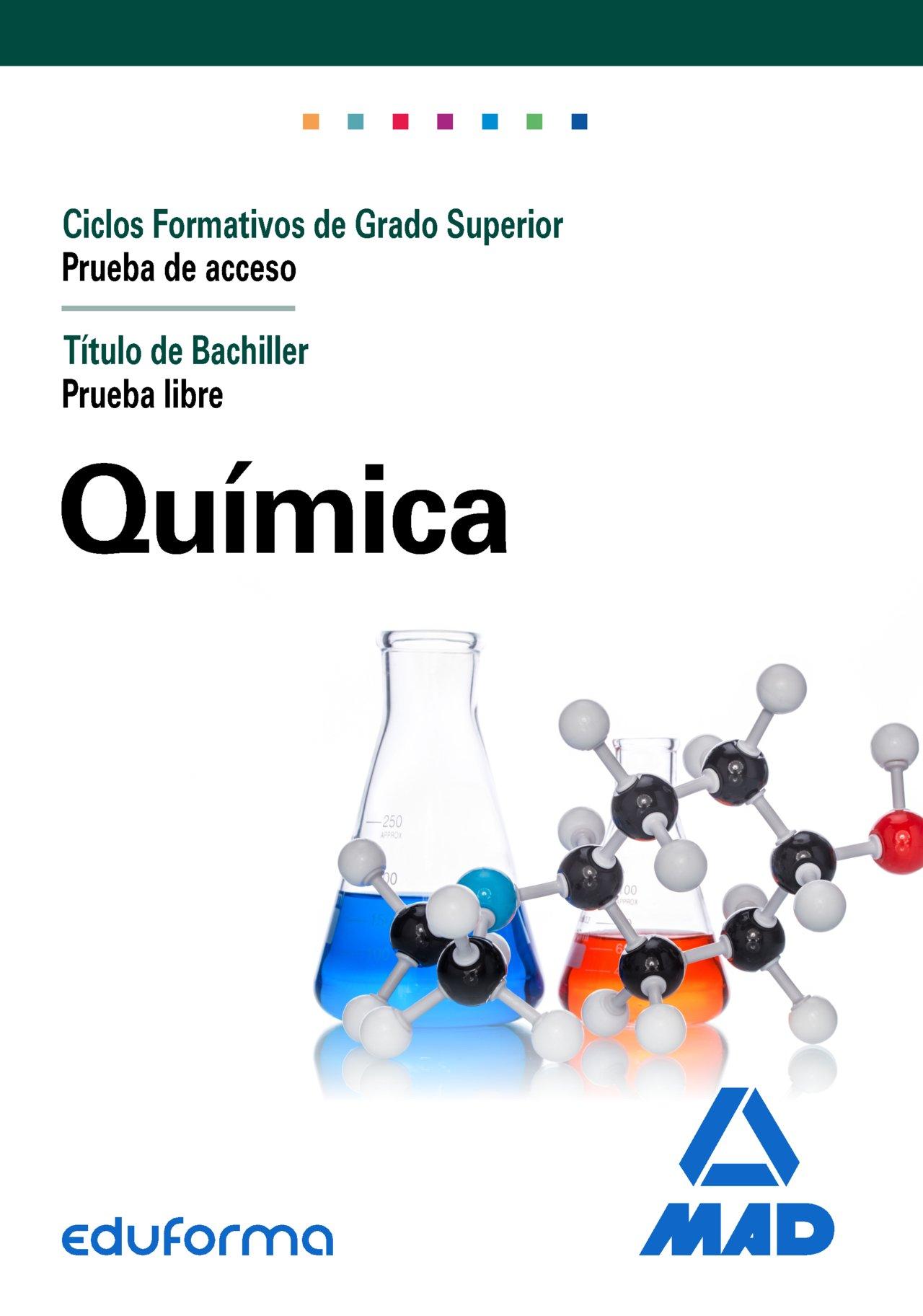 Química Para El Acceso A Ciclos Formativos De Grado Superior