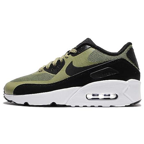 Nike - Air Max 90 Ultra 20 GS - 869950300 - Colore  Nero-Verde - Taglia   39.0  Amazon.it  Scarpe e borse 592d9d0a566