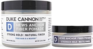 product image for Duke Cannon Supply Co. - News Anchor Fiber Pomade, Fresh Cedar and Sandalwood (4.6 oz and 2 oz) Thick Looking Hair With Slightly Stronger Hold Full and Travel Combo - Fresh Cedar and Sandalwood