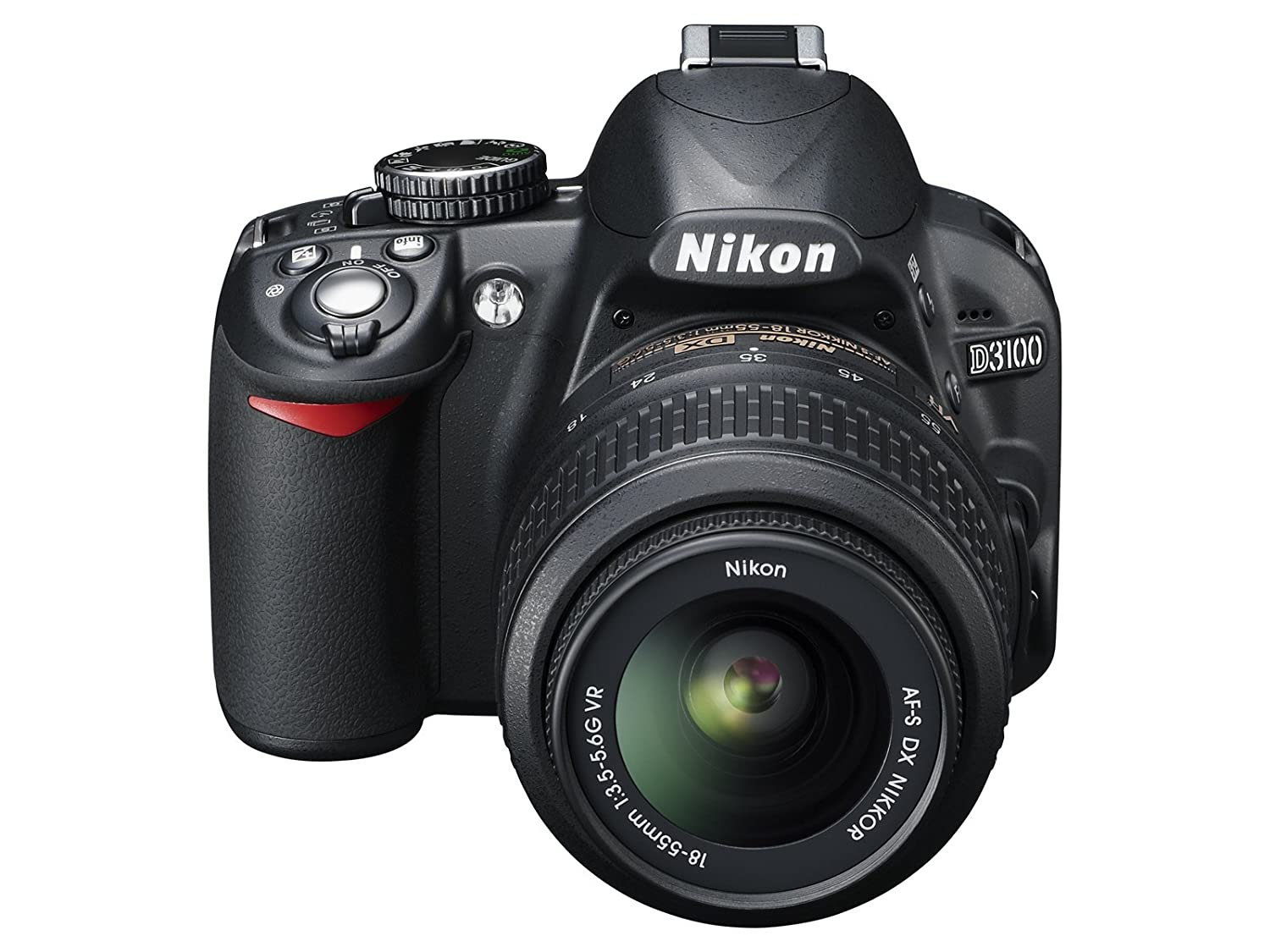 Camera High Megapixel Dslr Camera amazon com nikon d3100 dslr camera with 18 55mm f3 5 6 auto focus s nikkor zoom lens discontinued by manufacturer camera