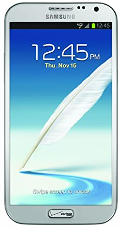 Samsung Galaxy Note II, White 16GB (Verizon Wireless)
