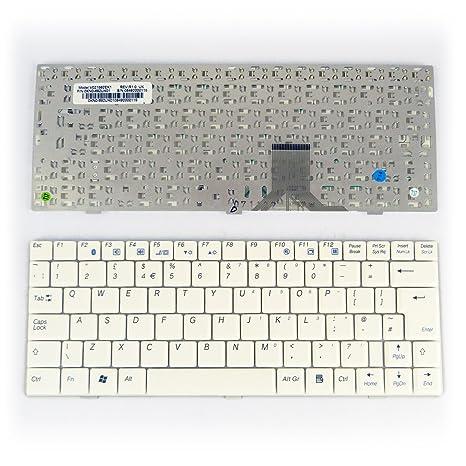 Packard Bell v021562ek1 blanco UK de repuesto teclado para ordenador portátil