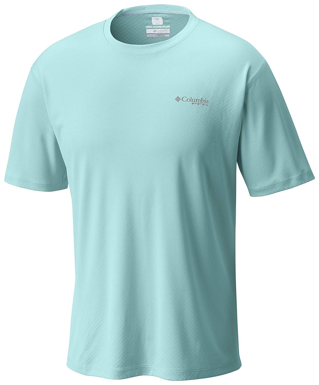 6d308fc5c21 Columbia Men's PFG Zero Rules¿ S/S Shirt at Amazon Men's Clothing store: