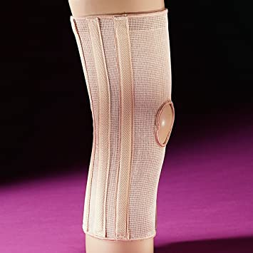 8acbdbce35 Image Unavailable. Image not available for. Color: Freeman ELASTIC SPIRAL KNEE  BRACE SUPPORT OPEN PATELLA ...