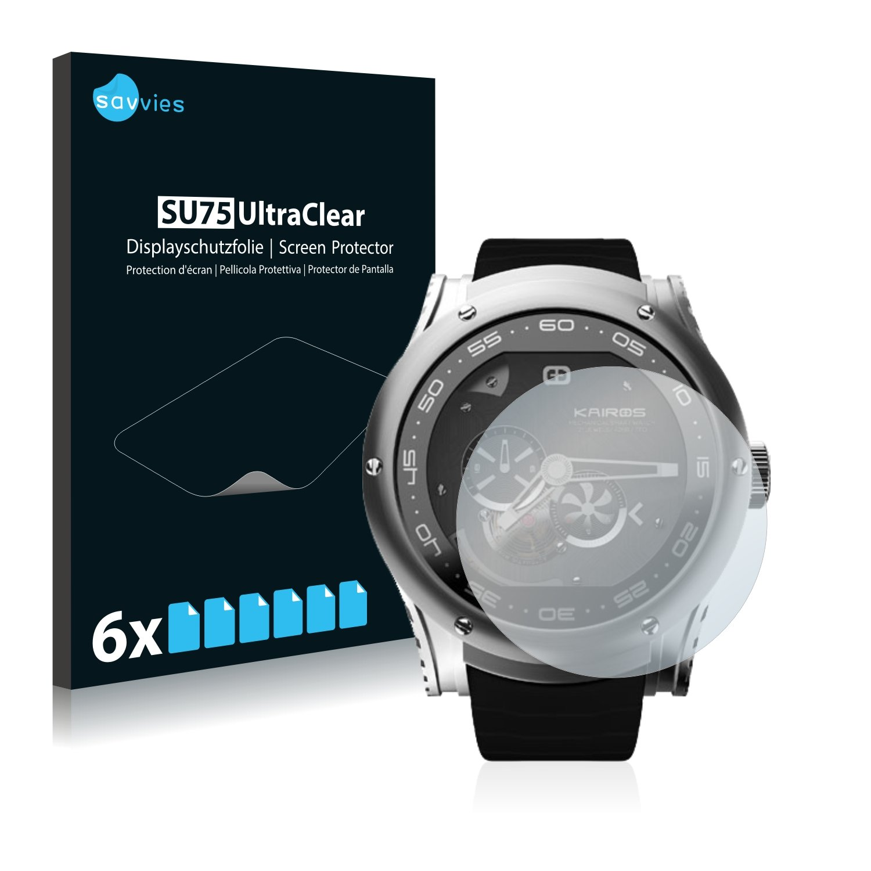 savvies Protector Pantalla Compatible con Kairos Smartwatch ...