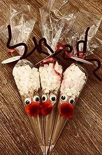 B Reindeer Hot Chocolate Cones 1 Reindeer Amazoncouk