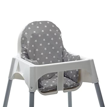 Amazoncom Ikea Antilop Highchair Cushion Insert Easy To Fit And