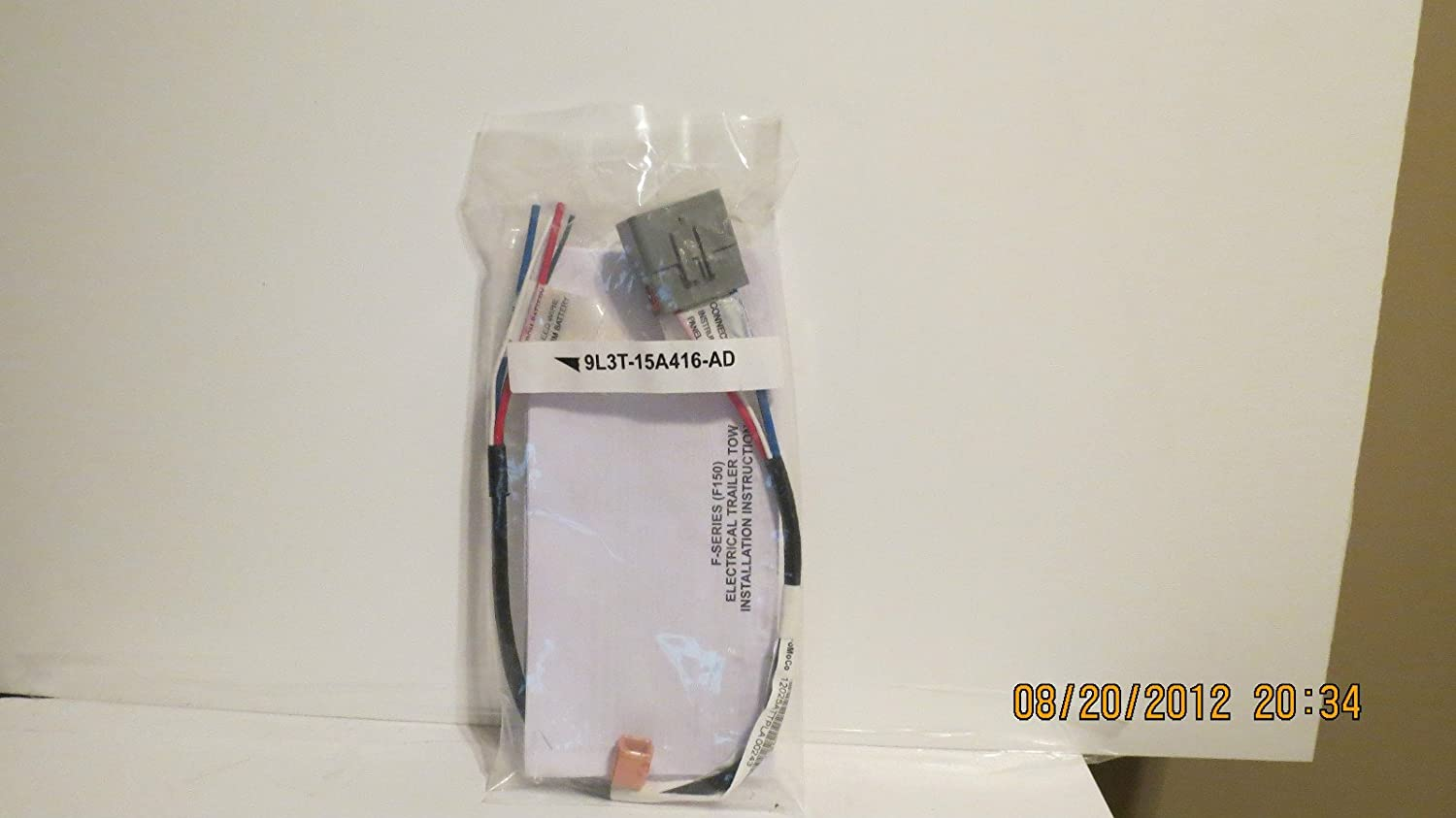 Amazon.com: Ford F-150 Trailer Towing Harness -- Trailer Brakes -- Part #  9L3T-15A416-AD -- F-150: Automotive