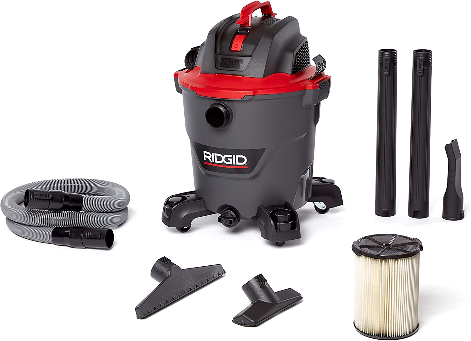 Ridgid 62703 Red 12 gallon RT1200 Wet/Dry Vacuum