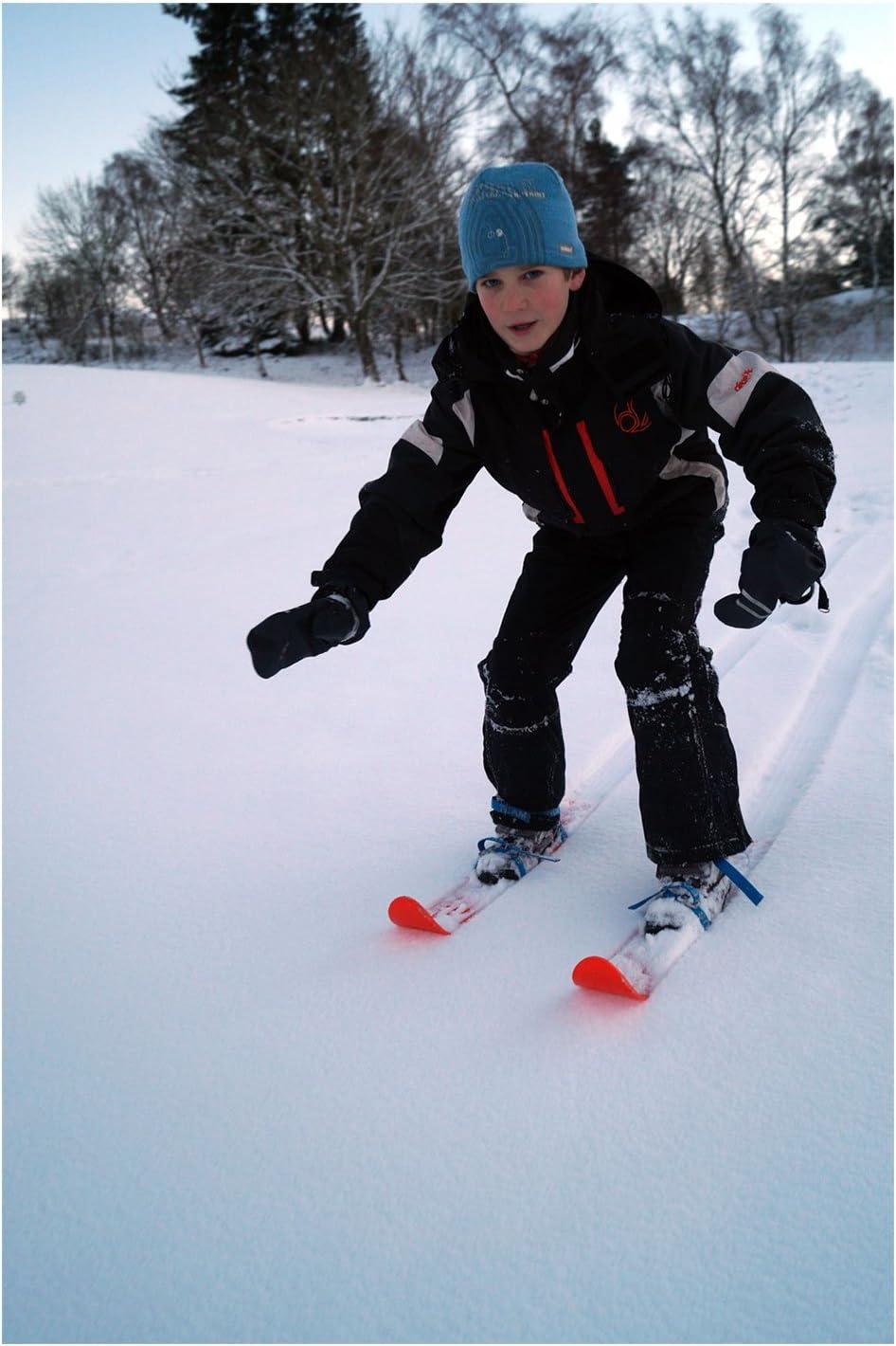 usati dalla Federazione USA di combinata nordica Sci per bambini per pratica adatti a qualsiasi tipo di scarpa//scarpone tecnica e allenamento vari colori per bambini e ragazzi dai 3 anni in su