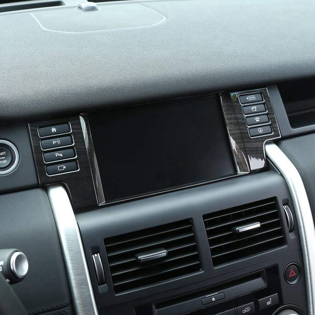 ABS Auto Dekorieren Rahmen GPS Navigation Panel F/ür Discovery Sport 2015-2017 Auto Zubeh/ör Silber
