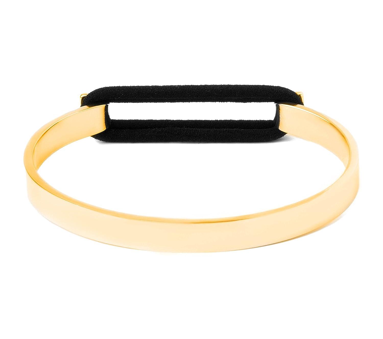 Ashley Bridget Skinny Hair Tie Bracelet - Elegant Fashion Jewelry Elastic  Holder Bangle Includes Gift Box ab331a0c28d