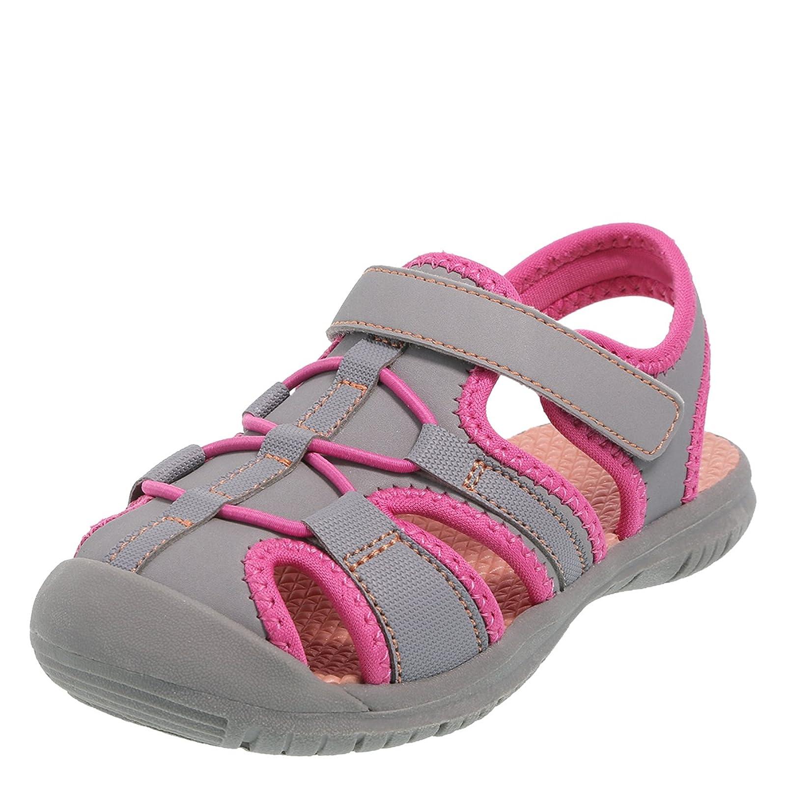 Rugged Outback Girls' Toddler Marina Bumptoe Sandal D(M) Mens - 4