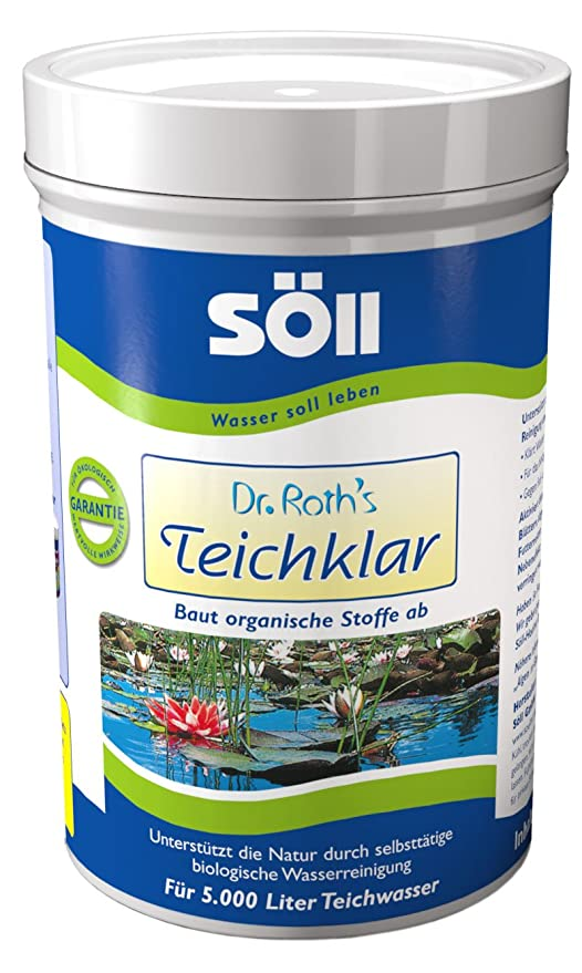 Söll 10070 - Producto antialgas para estanques (250 g)