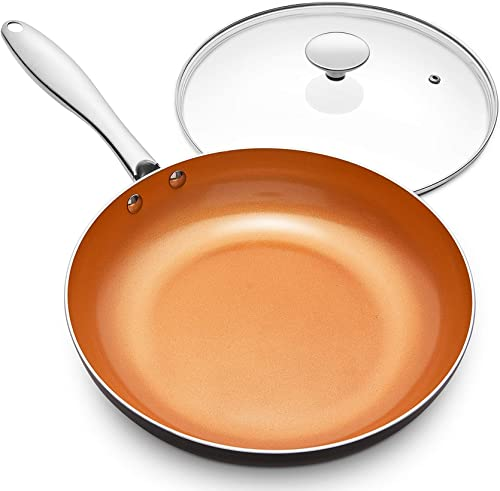 Michelangelo: 10 Inch Frying Pan with Lid