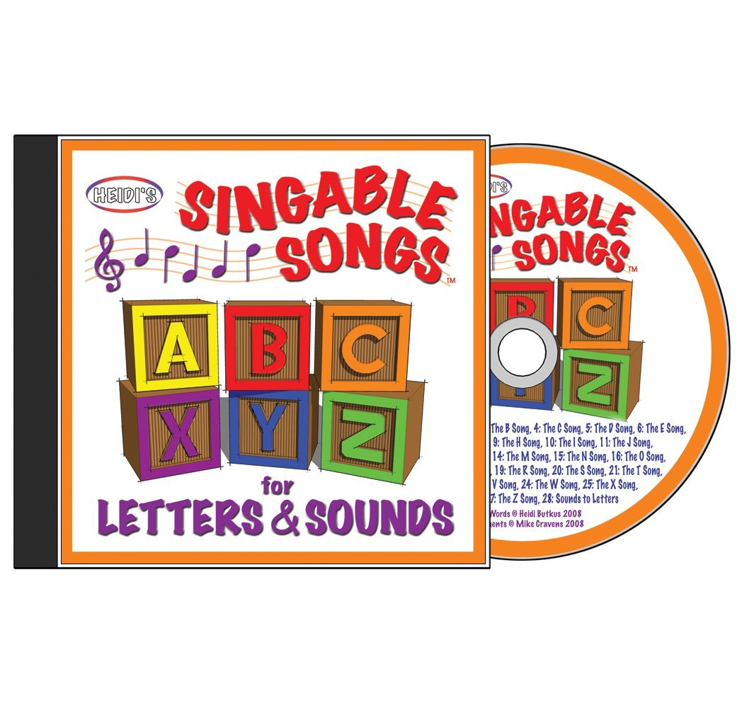Heidi Butkus - Singable Songs for Letters and Sounds CD - Amazon.com Music