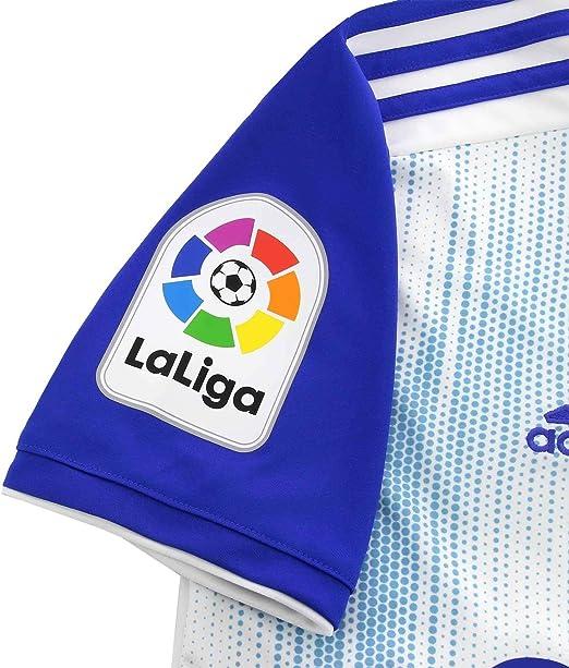 adidas Real Zaragoza Primera Equipación 2019-2020 Niño, Camiseta ...